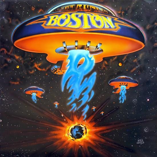 Boston vinyl Cover