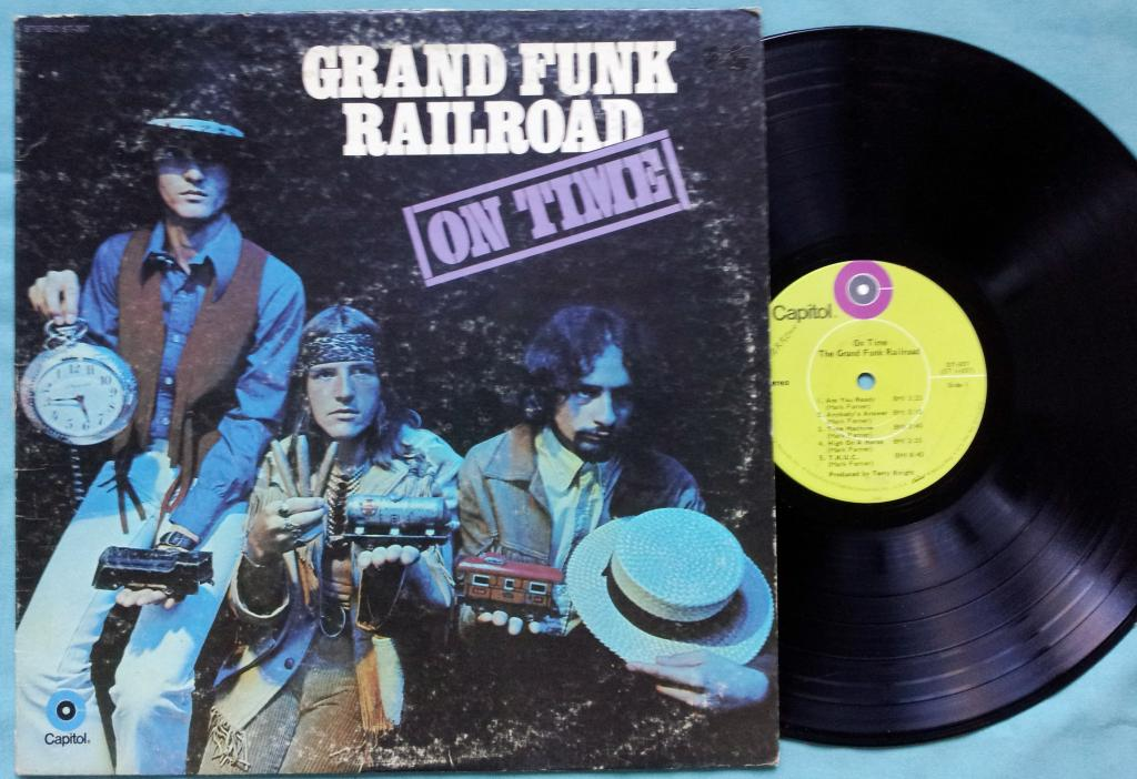 On Time Grand Funk Railroad My Best Reviews