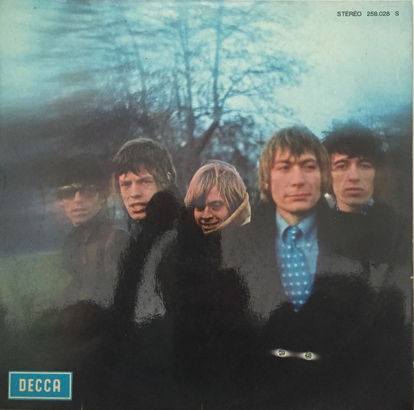 Between the buttons front cover
