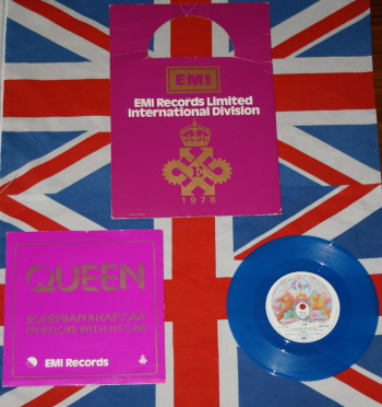 Bohemian rhapsody blue vinyl