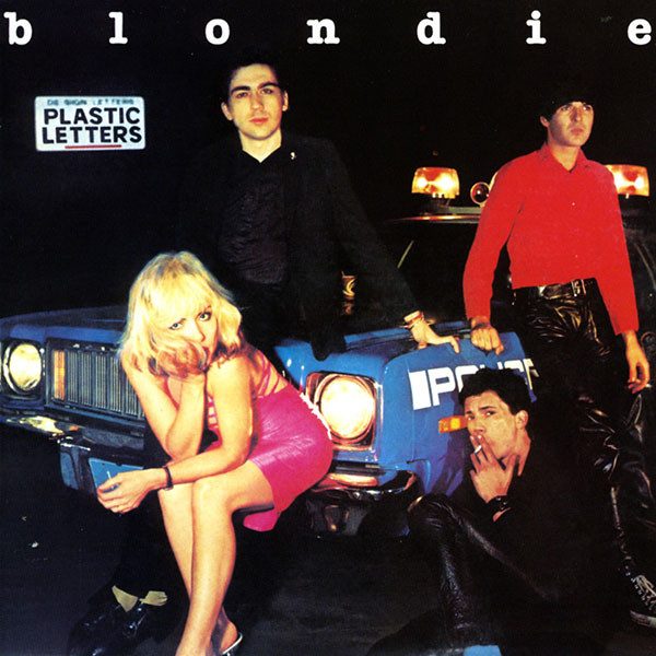 Blondie the discography plastic letters