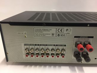 come si collega il giradischi all'amplificatore - ingressi amplificatore
